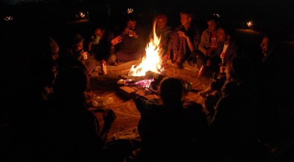 Night discussion (sowing seeds-2010)