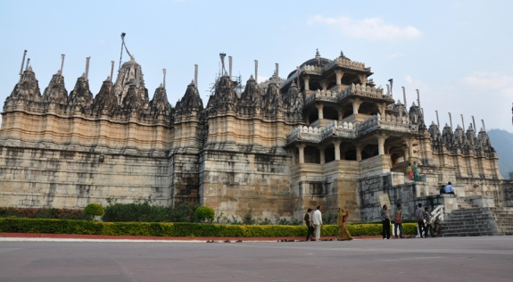 Ranakpur Jain temple  (sowing seeds 2010 trip)